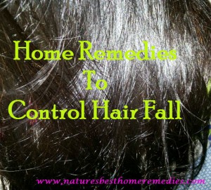 home remedies to control hair fall