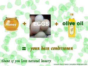 honey hair conditioner recipe