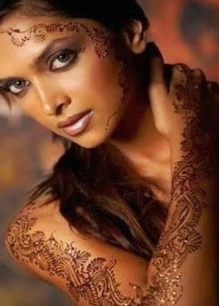 How to Create temporary henna tattoo
