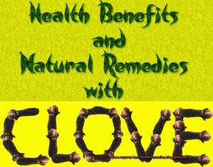 home remedies using clove