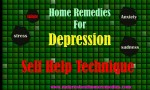 Home Remedies For Depression : Self Help Tips