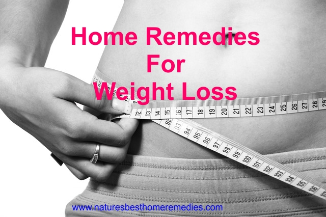 home remedies for losing weight