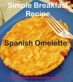 Easy Spanish Omelette Recipe For Breakfast
