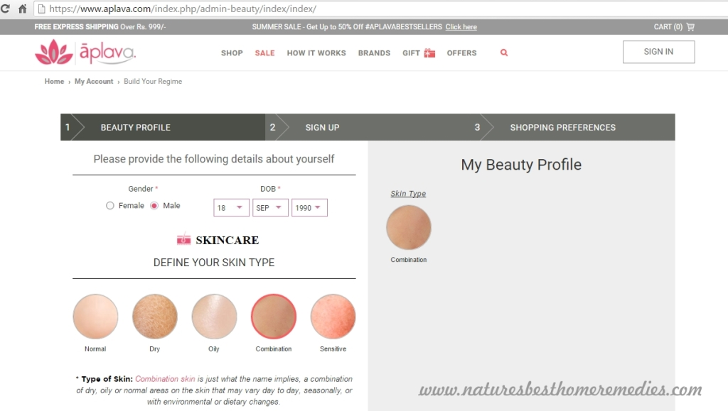 aplava beauty profile