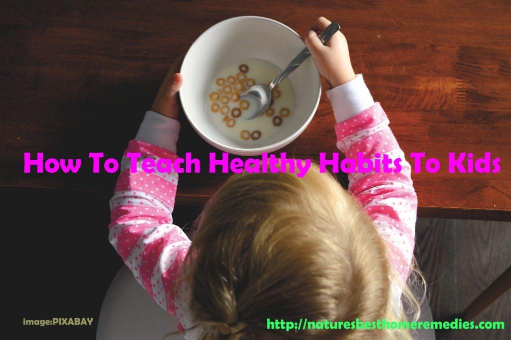 healthy habits kids