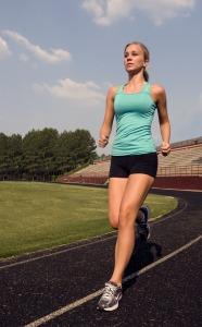 sweat to exfoliate skin